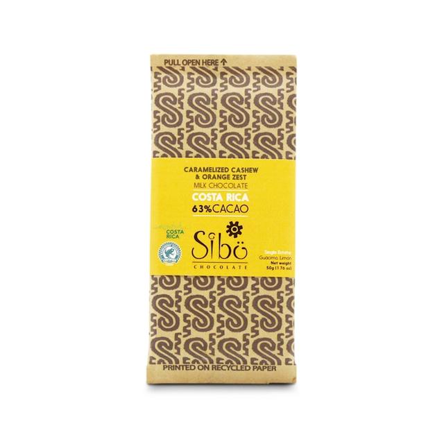 Sibuチョコレートキャラメライズカシュー(カカオ63% 50g)