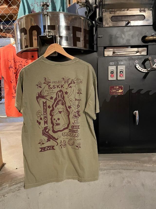"""GRINDLODGE × BSKK  """"GOOD GRIND COFFEE""""  Sweat <708 ver.>"""