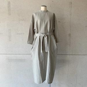 【evam eva】linen one piece/E213T012