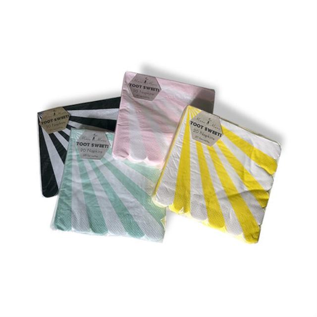 merimeri メリメリ - paper napkin / ペーパーナプキン ( STRIPE ) 20枚入り