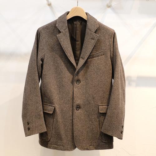 Workers(ワーカーズ) メイプルリーフジャケット ブラウンパターンツイード