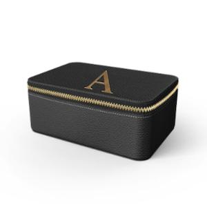 Box Premium Shrink Leather Case (Ink Black)