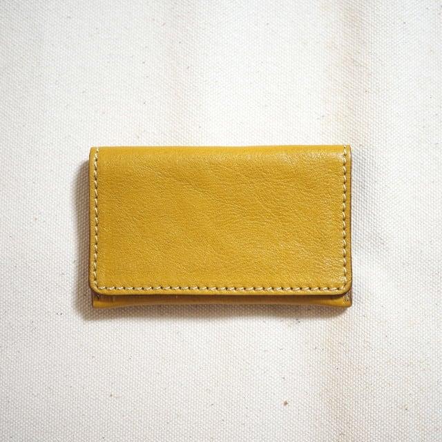 コンパクトな名刺カードケース / イエロー