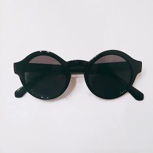 Eyewear♡ラウンド01 ブラック
