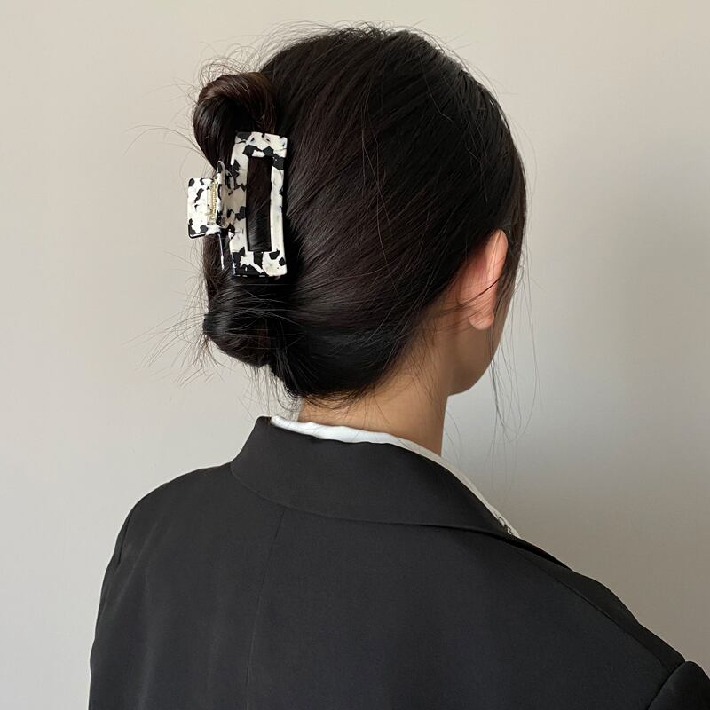 Cow-print hairclip(8TYPE)