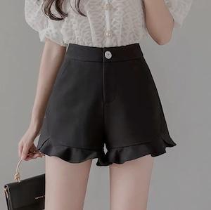 frill short pants 3color