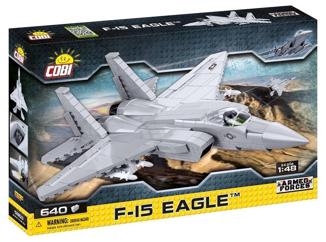 COBI #5803 F-15 イーグル (Eagle) 1/48 scale