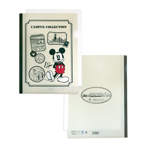 Disney Campus Collection クリアファイル