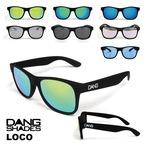 DANG SHADES (ダン・シェイディーズ) LOCO (ロコ) サングラス loco1 ケース 付属 アウトドア ユニセックス メンズ レディース キャンプ ウィンター スポーツ スノボ スキー 紫外線 メガネ 眼鏡 グラス おしゃれ かっこいい カラー ライト 運転 ドライブ
