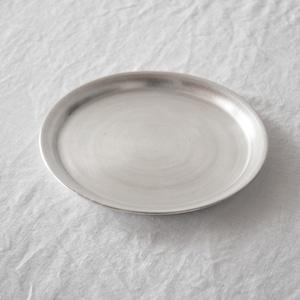 オノエコウタ Kota Onoe  銀リム皿