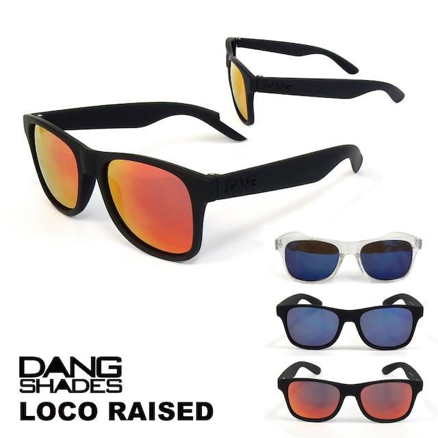 DANG SHADES (ダン・シェイディーズ) LOCO (ロコ) locor サングラス ケース 付属 アウトドア ユニセックス メンズ レディース キャンプ ウィンター スポーツ スノボ スキー 紫外線 メガネ 眼鏡 グラス おしゃれ かっこいい カラー ライト 運転 ドライブ