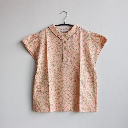 《mina perhonen 2021SS》ensoku ワンピース / pink / 110-140cm