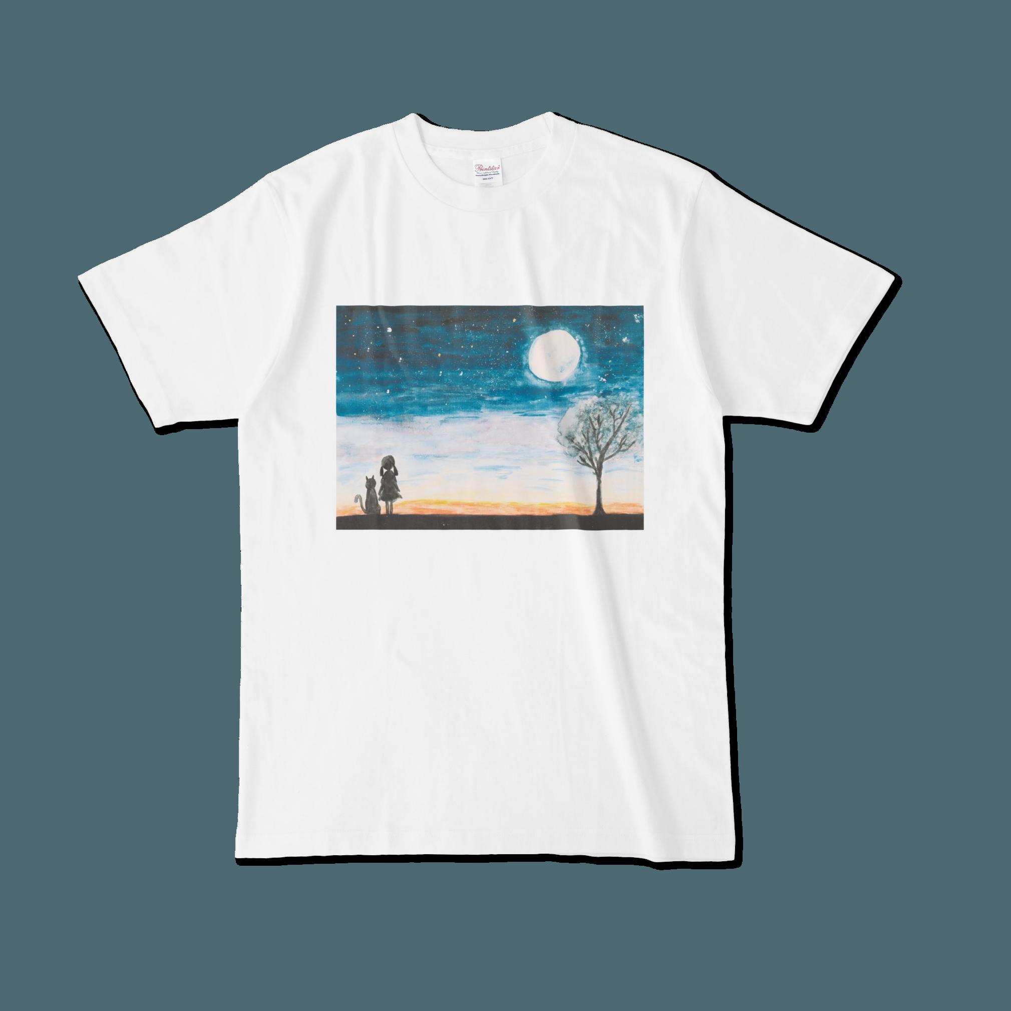 【税込・送料無料】成瀬陽菜デザインTシャツ「夜空」