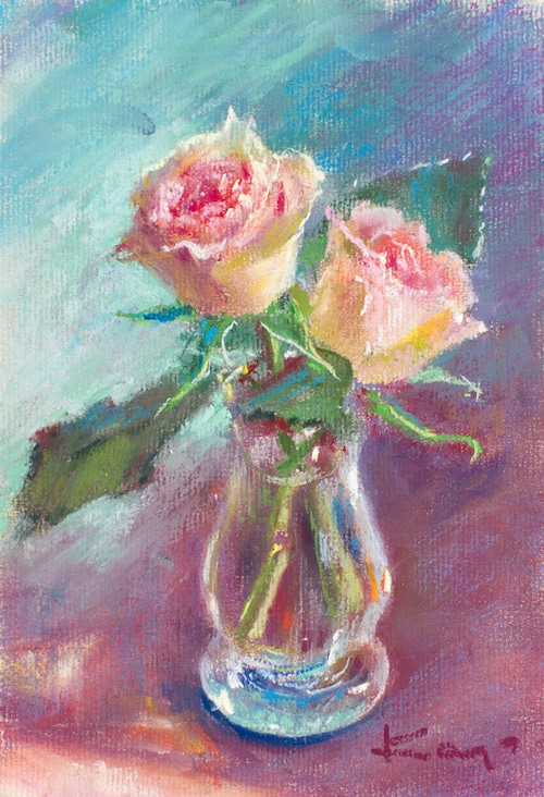 NO.144「秋の薔薇」