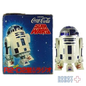 コカコーラ スター・ウォーズ R2-D2型 AMラジオ *2020A