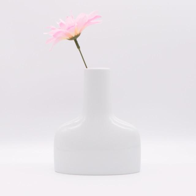 【限定1点 アウトレット品】波佐見焼 family vase 花瓶 M ホワイト 256869 豆豆市203