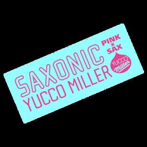 「SAXONIC」フェイスタオル