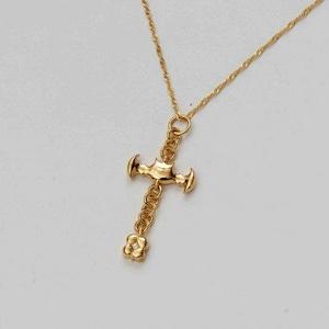 Bat Cross Gold