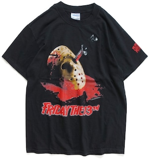 90年代 13日の金曜日 映画 Tシャツ 【M】 | ジェイソン ホラー アメリカ ヴィンテージ 古着