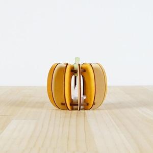 「かぼちゃ」木製ミニランプ