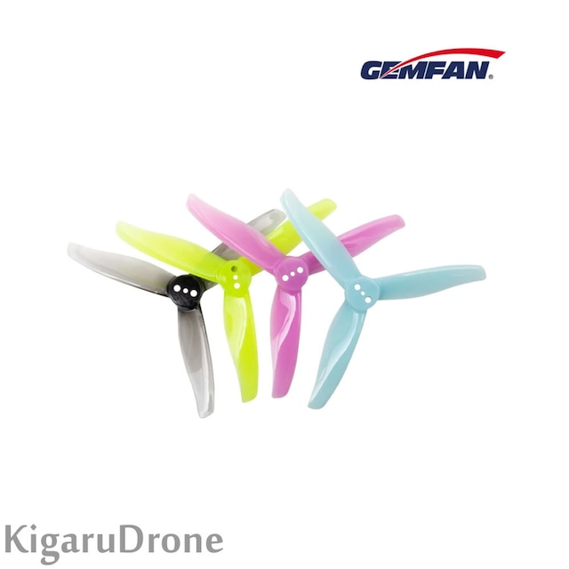 【3Inch】Gemfan Hurricane 3016-3 Toothpick Propeller Clear Grey / Blue / Purple / Yellow