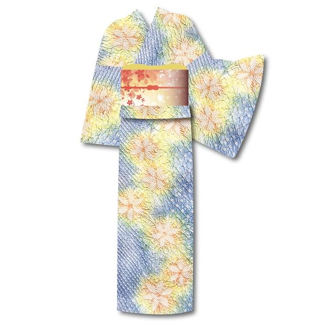 有松絞り浴衣 17-4010 仕立代込み