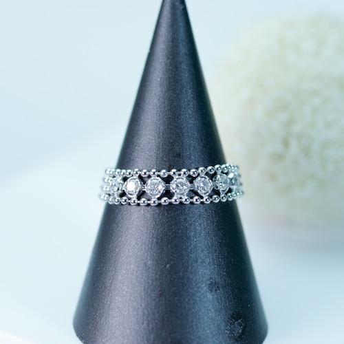 ダイヤモンドファッションリング 自由にサイズが変えられるリング9〜12号