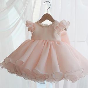 子供ドレス キッズドレス ベビードレス  女の子ドレス キッズフォーマルドレス ワンピース セレモニードレス 七五三 80cm-160cm 8422