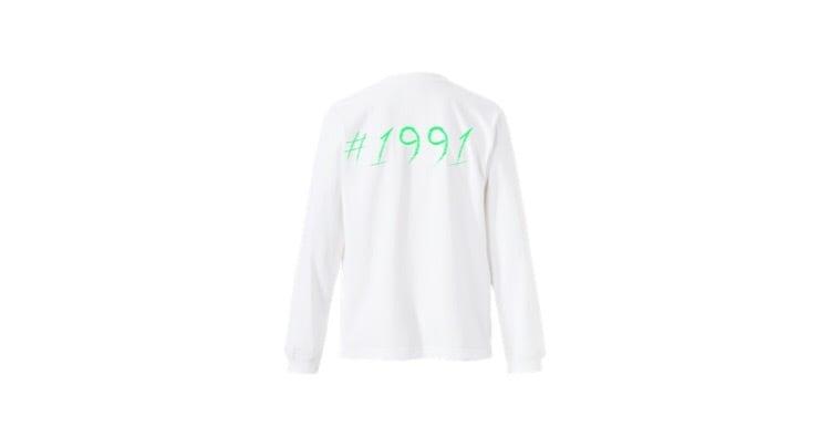1991 pop long T-shirts (GR)