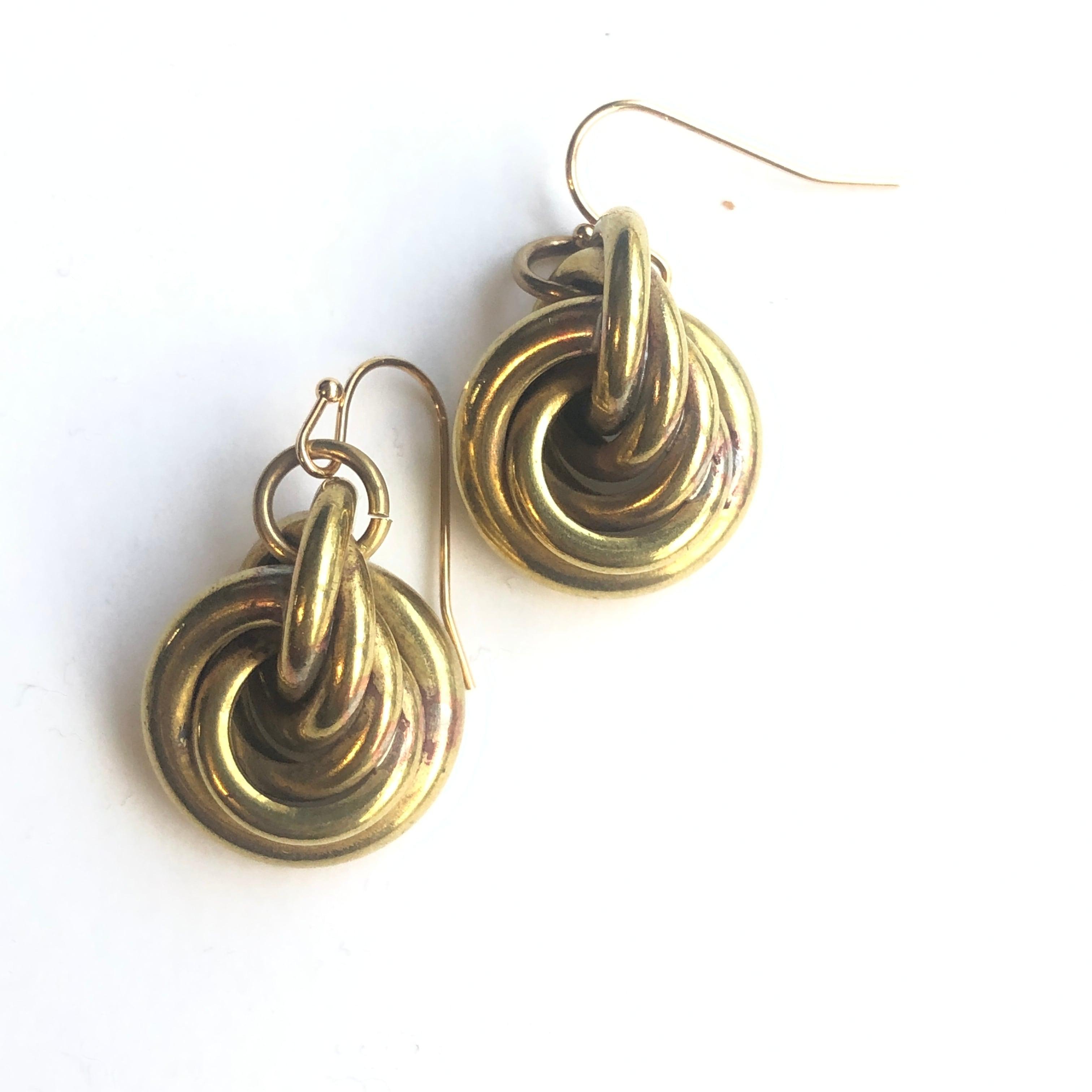 Knot earrings S B-005