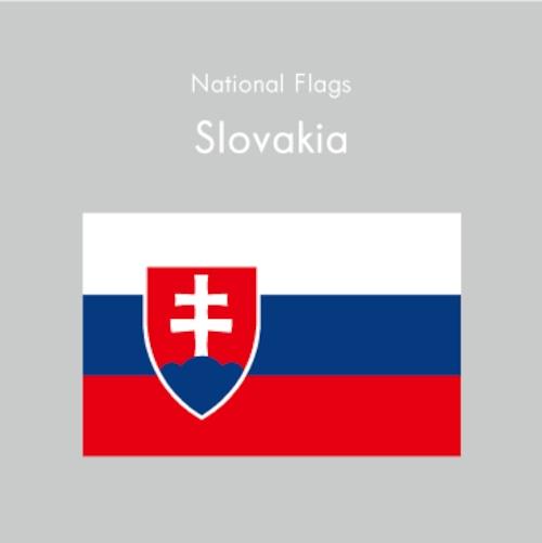 国旗ステッカー スロバキア