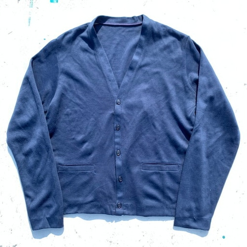 70's U.S.AIR FORCE アクリルカーディガン SWEATER MANS ACRYLIC USAF BLUE DSA100-75-C-1100 米空軍 レア 美品 MANCHESTER KNITTED FASHIONS社 希少 ヴィンテージ BA-812 RM1181H