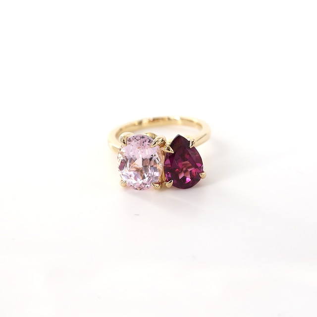 【NEW】Muse 2 Stones Ring M