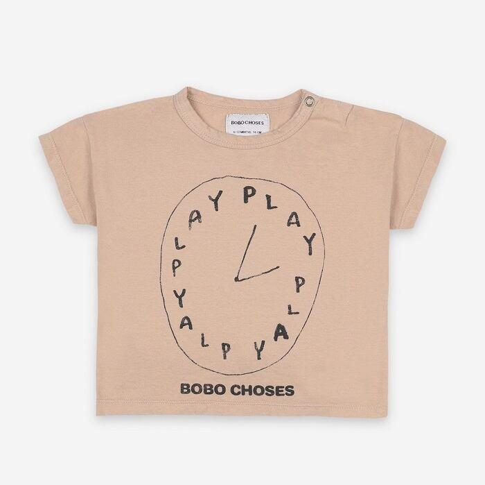 BOBOCHOSES Playtime Short Sleeve T-shirt (12m~36m)