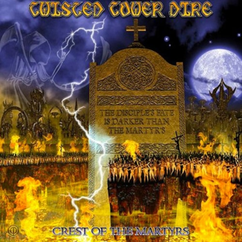 """TWISTED TOWER DIRE """"Crest of the Martyrs""""日本盤"""