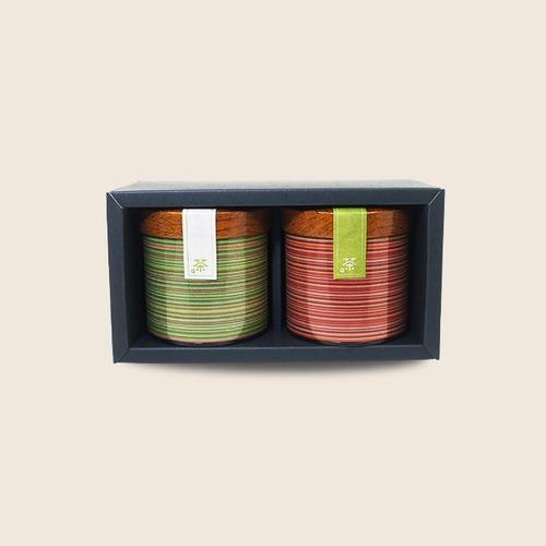 キャニスター缶セット (卯月100g×2本)