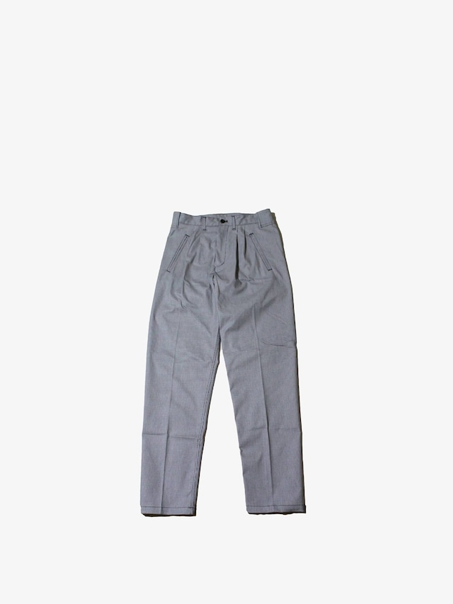 """EACHTIME. """"2Tuck Pants"""" Hounds Tooth Check"""