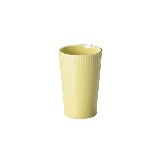 aito製作所 「ティント Tint」タンブラー カップ 330ml イエロー 美濃焼 289028