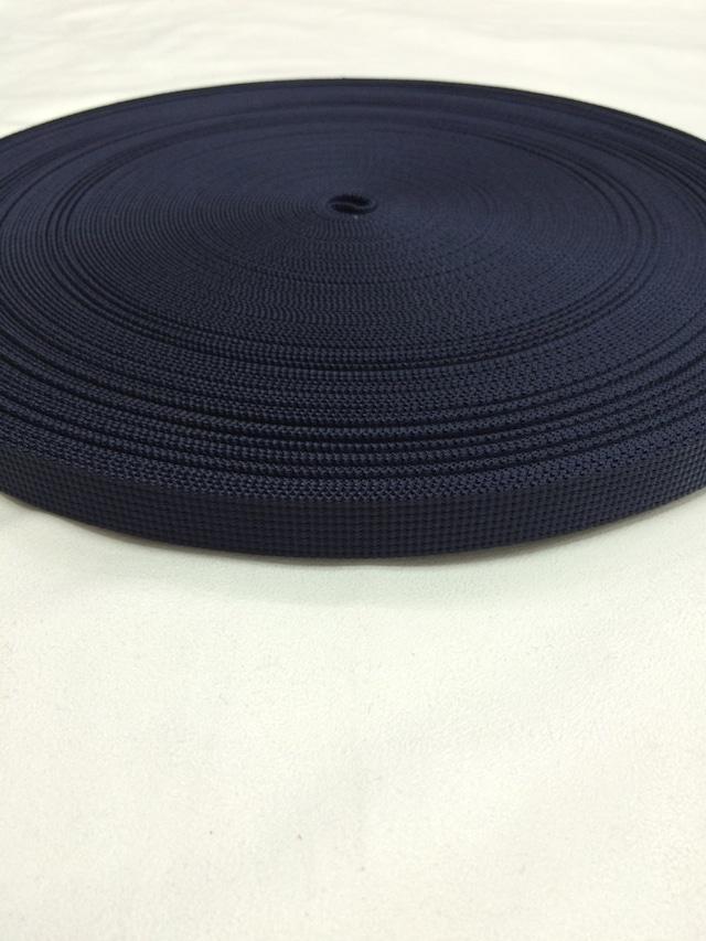 ナイロン  12本トジ  20mm幅  1.5mm厚  カラー(黒以外)  10m