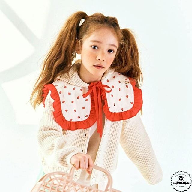 «即納» strawberry cape イチゴケープ 付け襟