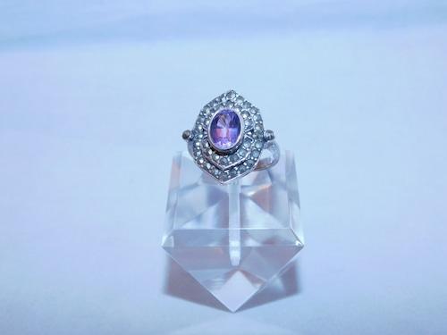 シルバーアメジストの指輪(ビンテージ) silver amethyst vintage ring