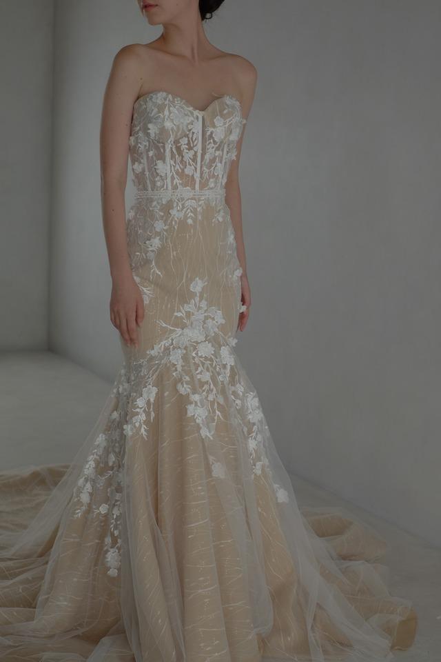 Wedding Dress/rental/Mermaid /DR6002 ( 旧品番DR2002)