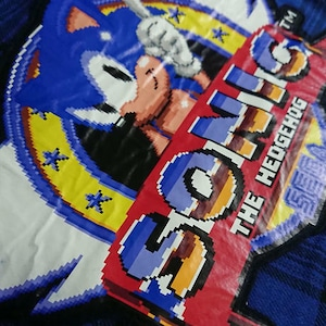 SONIC THE HEDGEHOG プラッドシャツ / GAMES GLORIOUS
