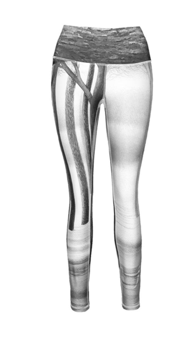Bri Black & White Leggings
