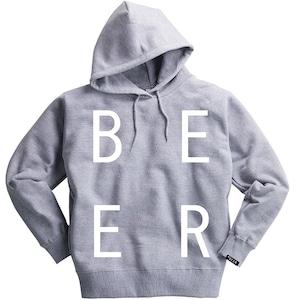 BEER 改行ロゴパーカ