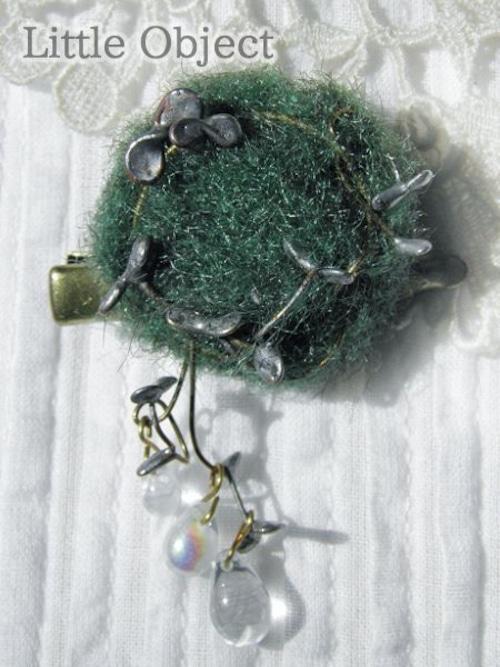 ブローチ - moss ブローチ - Little Object - no2-lit-13