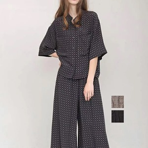 [SALE] Bluene(ブルーネ) Viscose Print Shirt 2021春物新作 [送料無料]