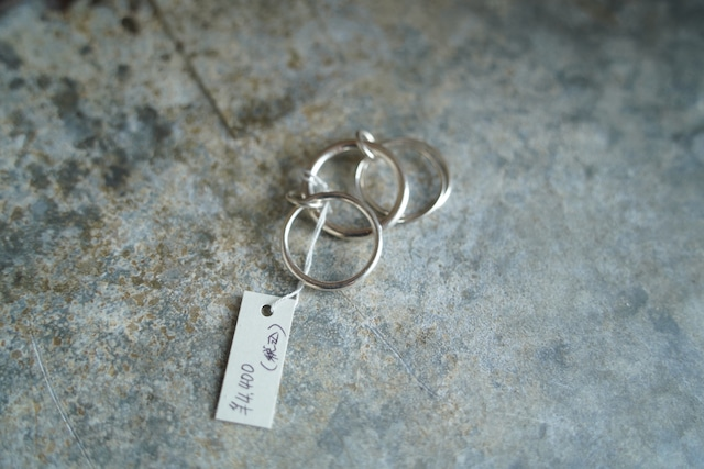 Lovers  silver925  4連 ring