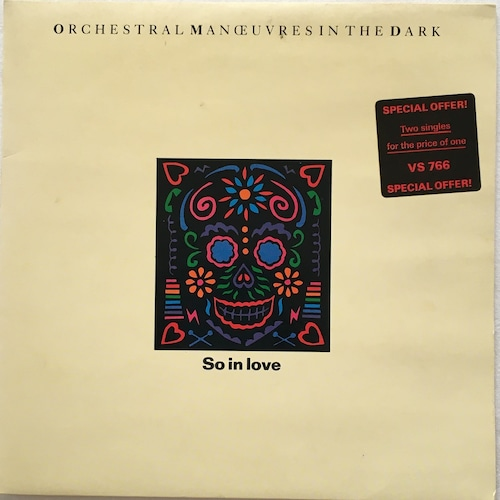 【7inch x 2・英盤】Orchestral Manoeuvres In The Dark  / So In Love