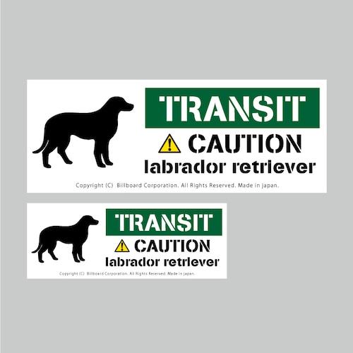 TRANSIT DOG Sticker [LabradorRetriever]番犬ステッカー/ラブラドールレトリーバー